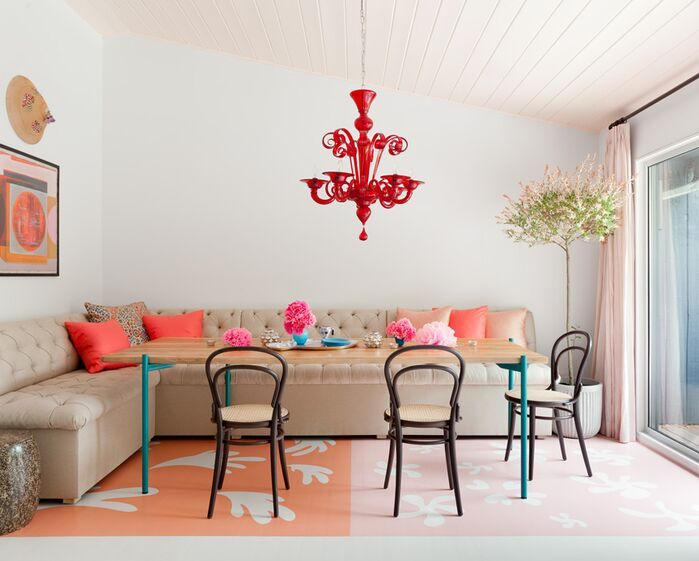 Eclectic Dining Room photo by Robin Henry