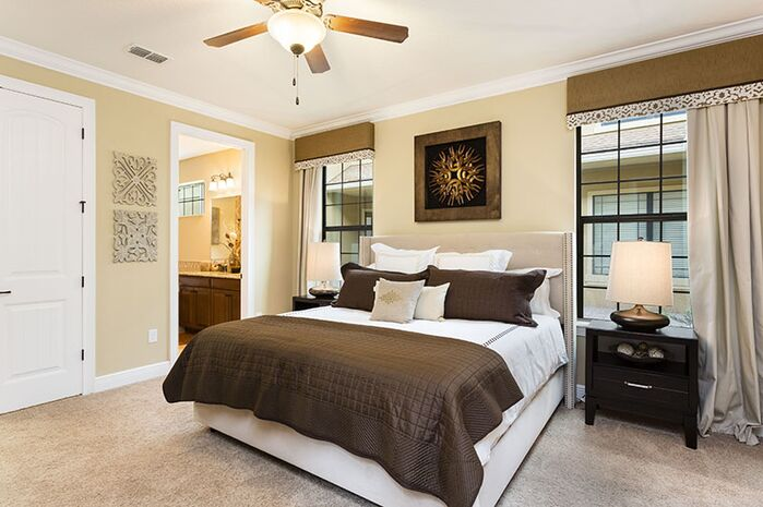 Contemporary Bedroom photo by Florida Furniture Packages