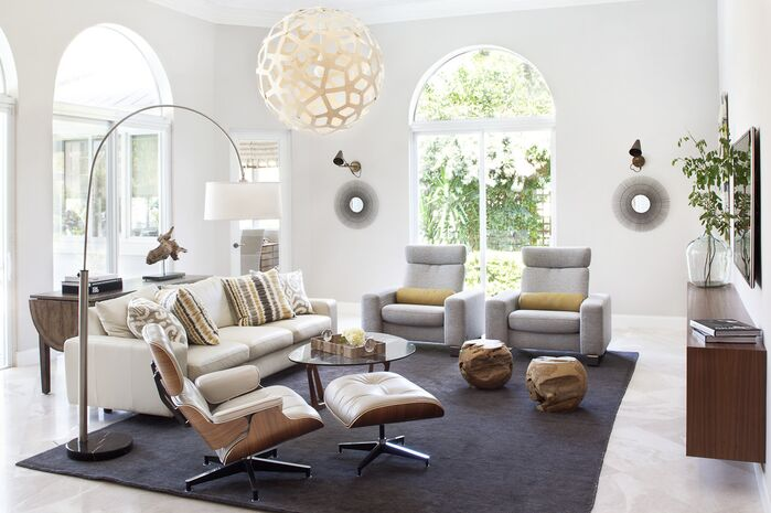 Modern Living Room photo by Krista Watterworth Design Studio