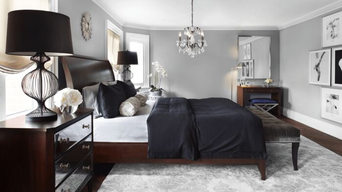 Glam Bedroom photo by ANNA DUVAL DESIGNS