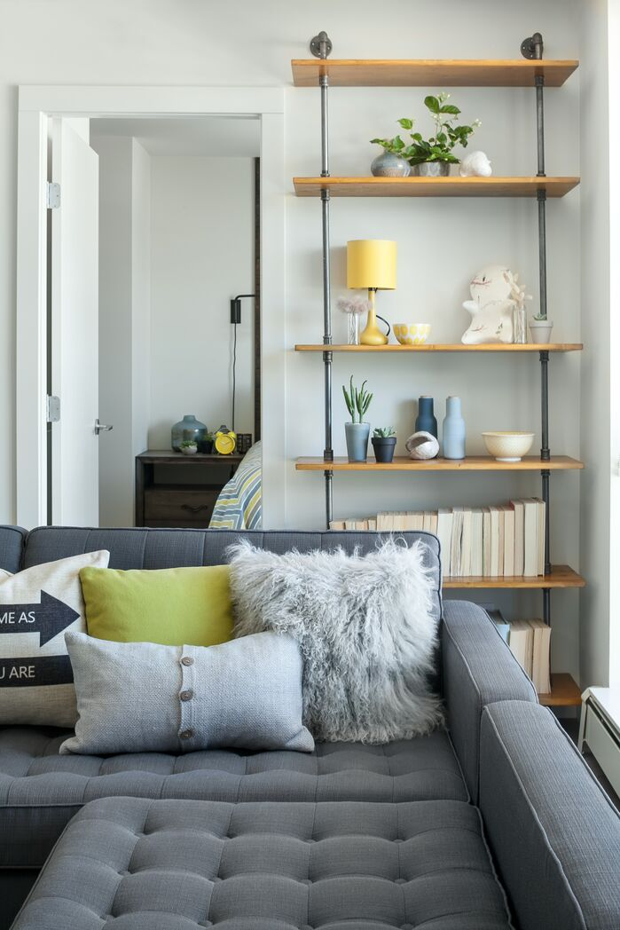 Modern Living Room photo by Kendall Ansell Interior Design