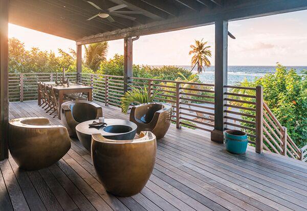 Coastal Exterior/Patio photo by Edgewater Development