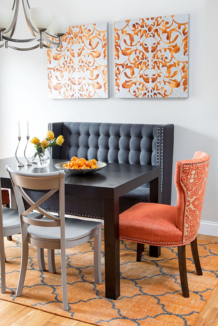 Eclectic Dining Room photo by Pizzigati Designs-eco chic interiors