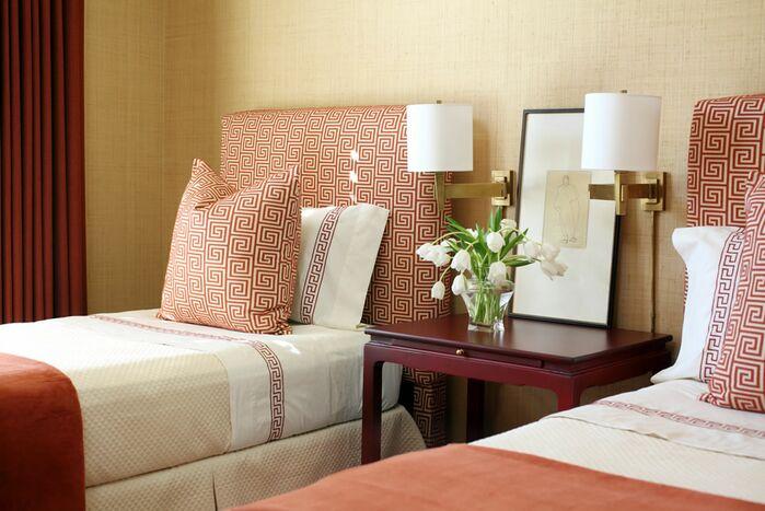 Contemporary Bedroom photo by Tobi Fairley Interior Design