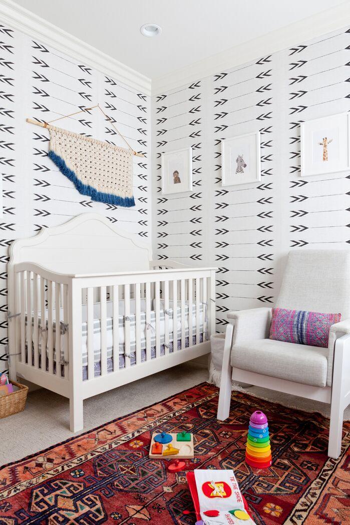 Boho Nursery photo by Veneer Designs
