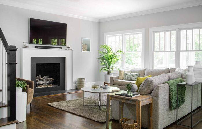 Contemporary Living Room photo by TERRACOTTA DESIGN BUILD