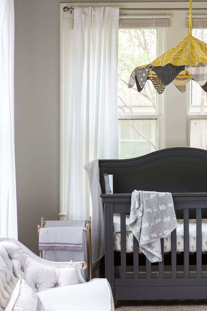Eclectic Nursery photo by Maureen Stevens Design