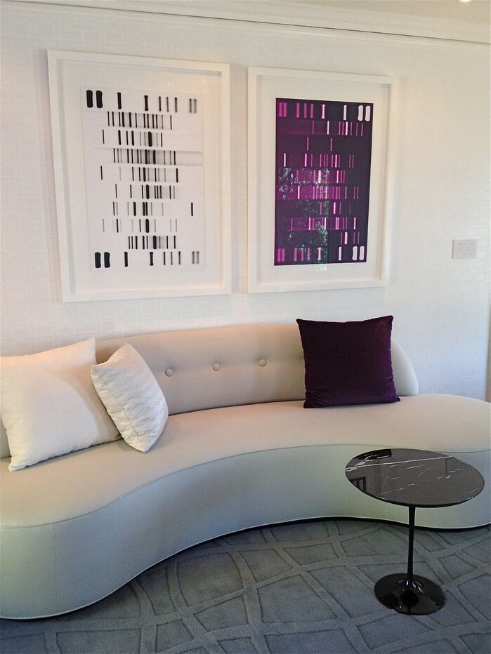 Modern Living Room photo by Brandon Neff Interior Design