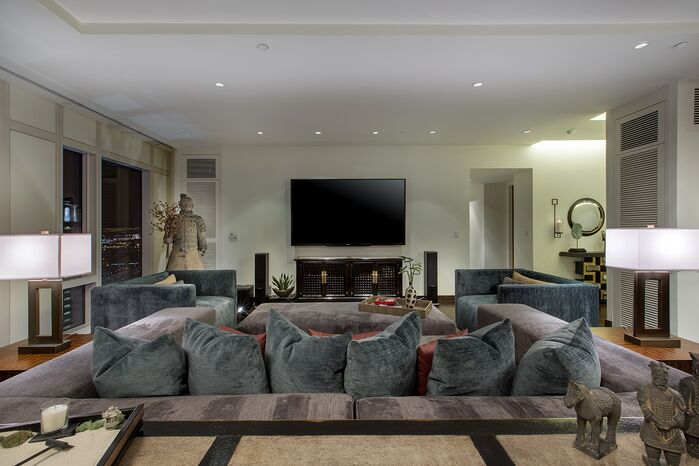 Modern Living Room photo by Lisa Escobar Design