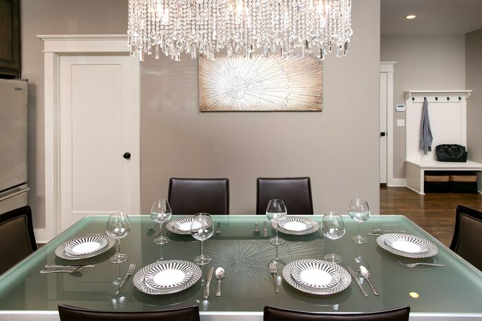 Glam Dining Room photo by Interior Concepts LLC