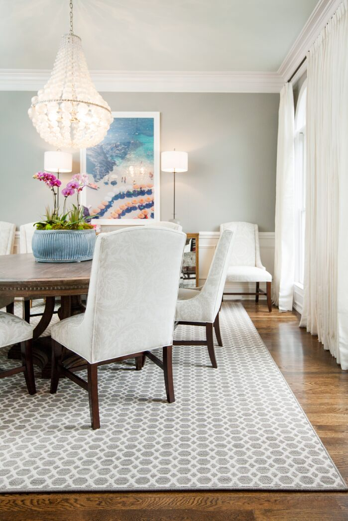Eclectic Dining Room photo by Kendall Simmons Interiors