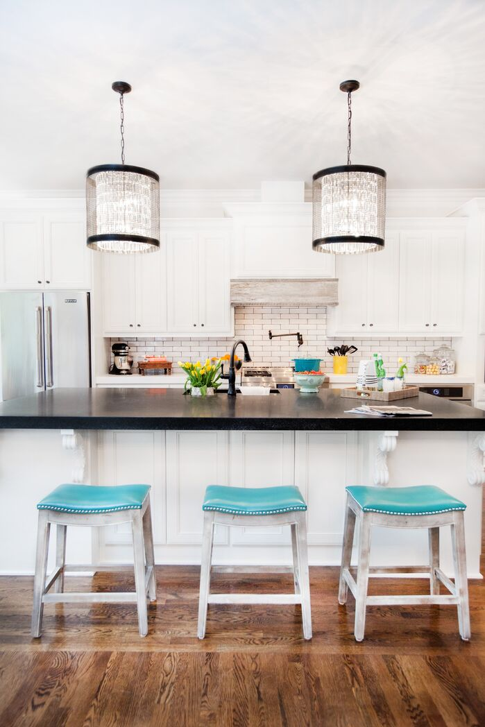 Eclectic Kitchen photo by Kendall Simmons Interiors