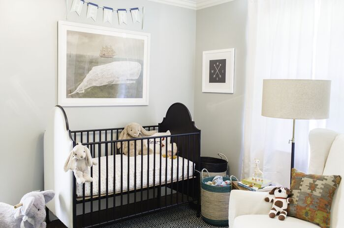 Traditional Nursery photo by Kendall Simmons Interiors