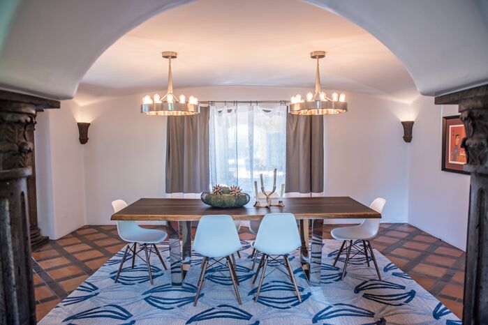 Contemporary Dining Room photo by Red Egg Design Group