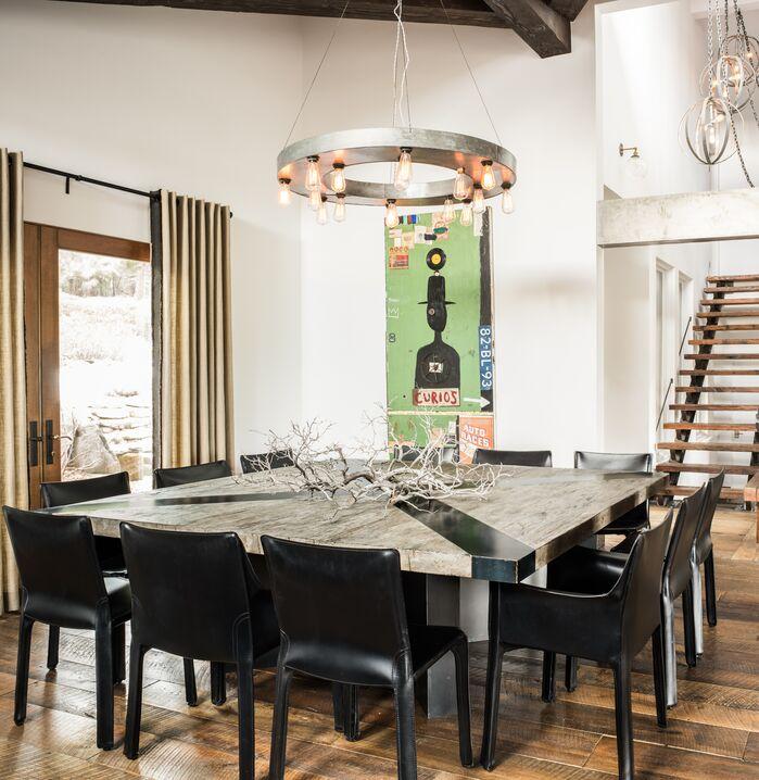 Eclectic Dining Room photo by Antonio Martins Interior Design