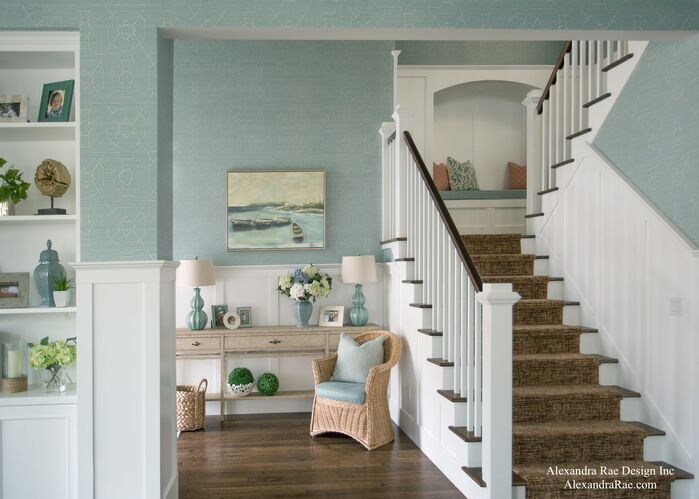 Coastal Living Room photo by Alexandra Rae