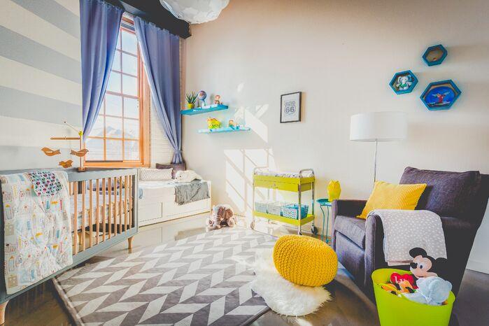 Modern Nursery photo by VPR Interior Decor