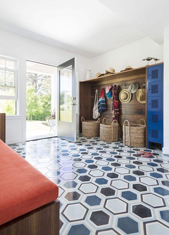 Modern Laundry/Mud Room photo by Thread by Lindsay Bentis