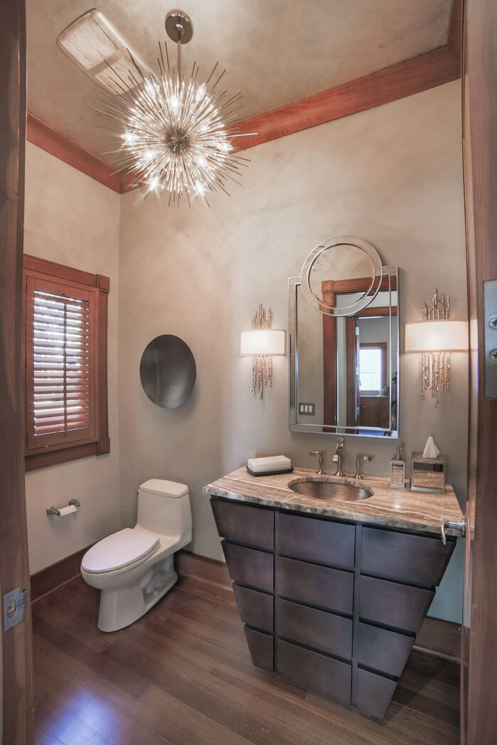 Contemporary Bathroom photo by Upscale Urban Design