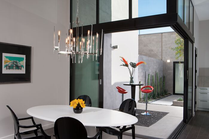 Modern Dining Room photo by Chimera Interior Design