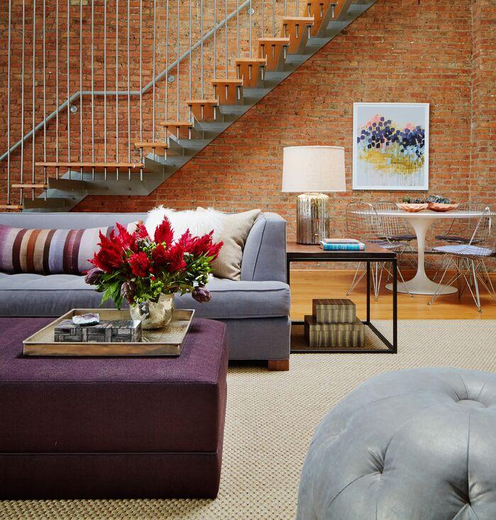 Contemporary Living Room photo by Jessica Lagrange Interiors