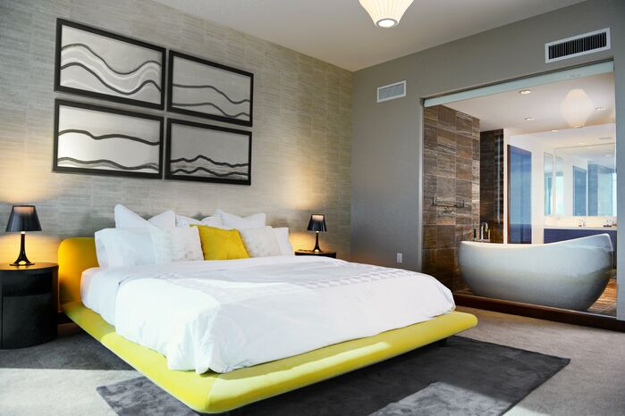 Modern Bedroom photo by MCYIA Interiors Architecture and Design