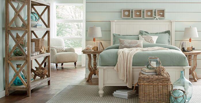 Coastal Bedroom photo by Birch Lane