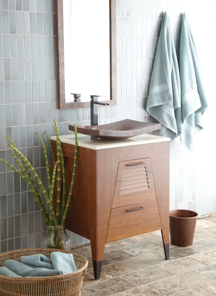 Contemporary Bathroom photo by Wayfair