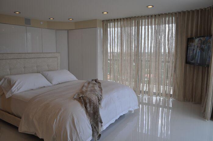 Modern Bedroom photo by Sweet Surroundings Design Group