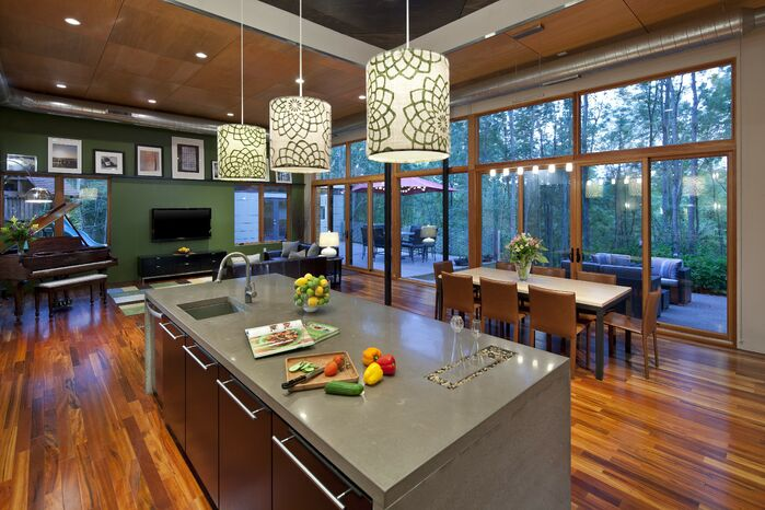 Modern Kitchen photo by Luca Construction and Design