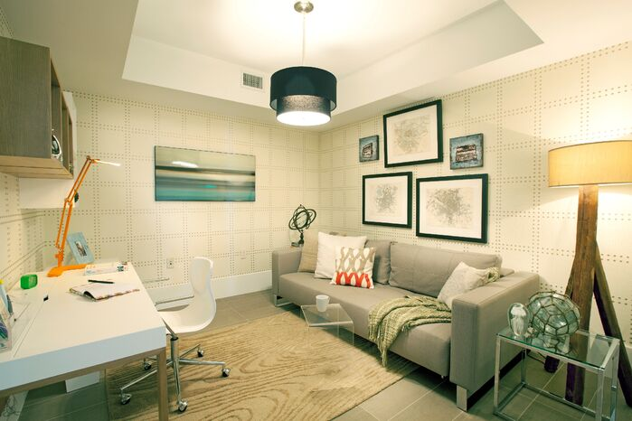 Modern Game/Rec Room photo by DKOR Interiors