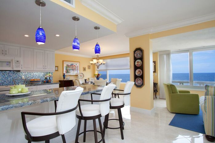 Coastal Kitchen photo by HK Interiors