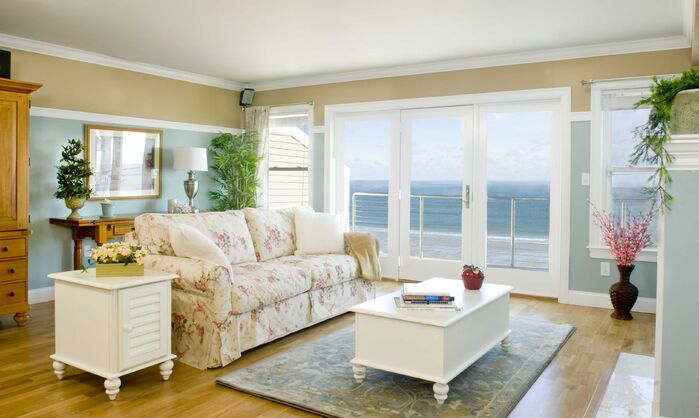 Coastal Living Room photo by Staging Concepts & Designs,LLC