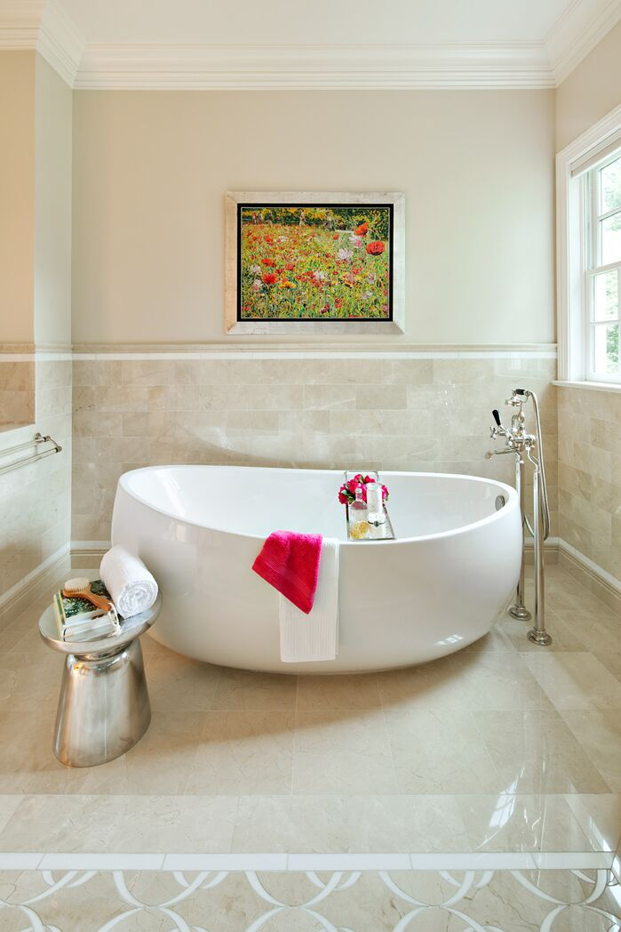Contemporary Bathroom photo by Clean Design Partners