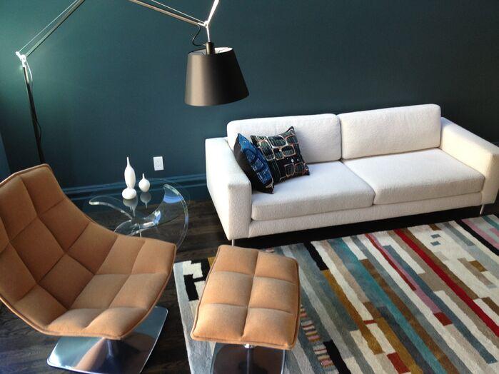 Modern Living Room photo by Melissa Guerrero Design
