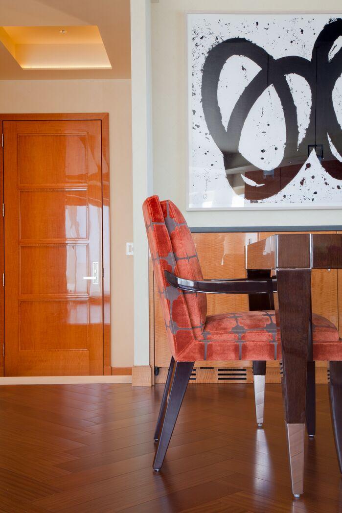 Contemporary Dining Room photo by Duneier Design