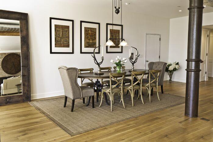Contemporary Dining Room photo by Marie Burgos Design