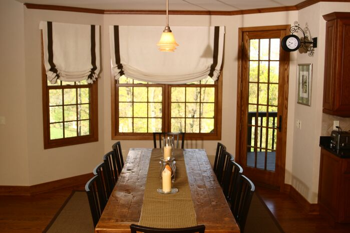 Rustic Dining Room photo by FW Interiors