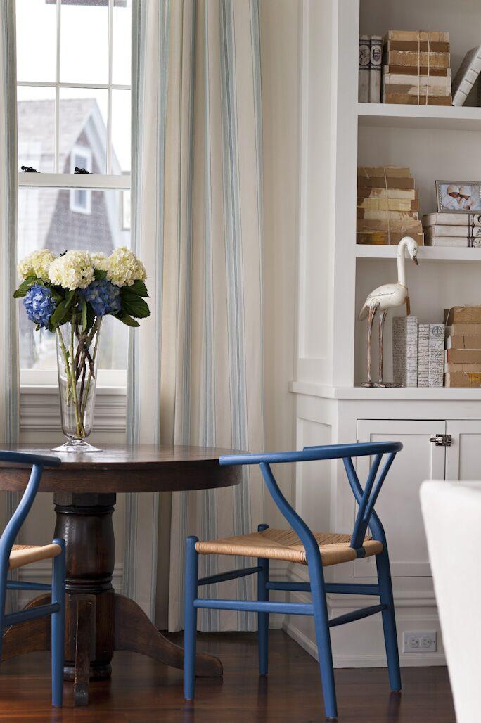 Coastal Dining Room photo by Elizabeth Bolognino Interiors