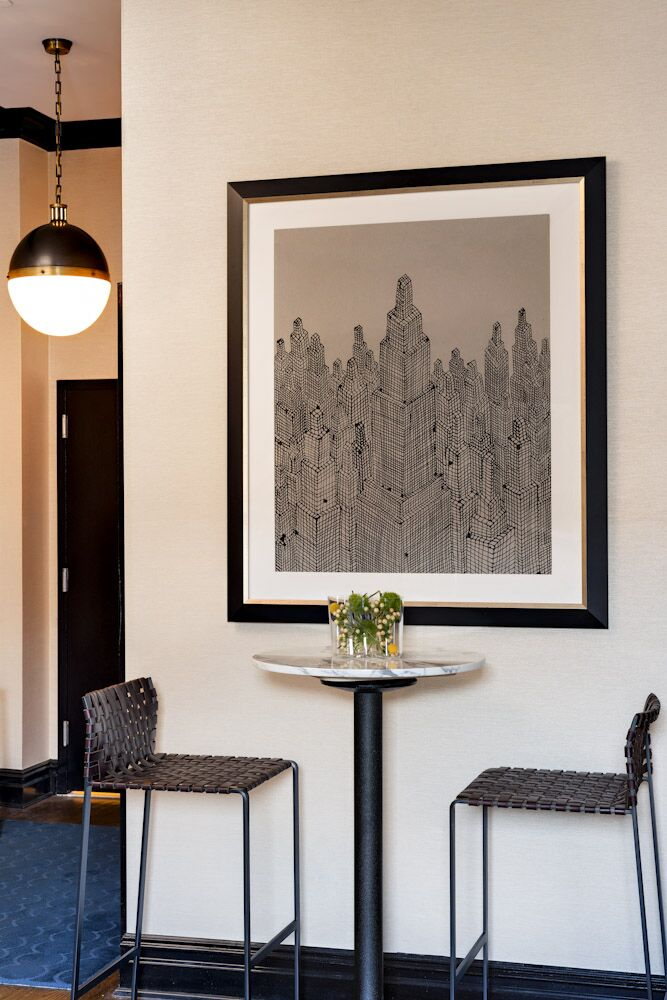 Modern Dining Room photo by Elizabeth Bolognino Interiors
