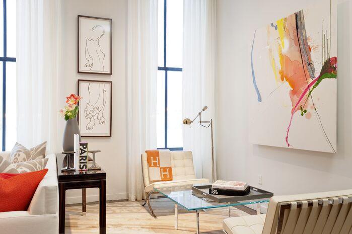 Modern Living Room photo by Elizabeth Bolognino Interiors