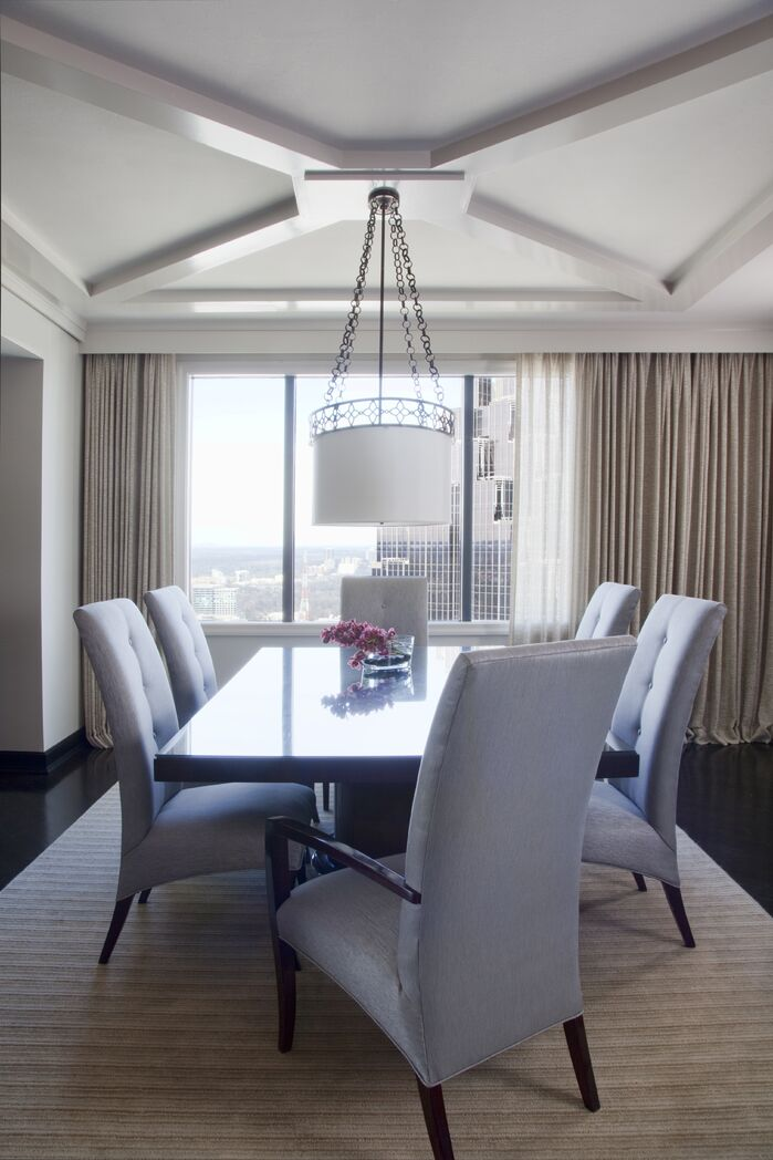 Contemporary Dining Room photo by Musso Design Group