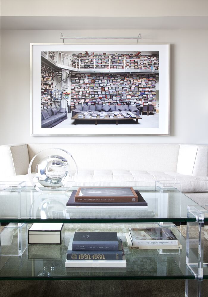 Contemporary Living Room photo by Musso Design Group