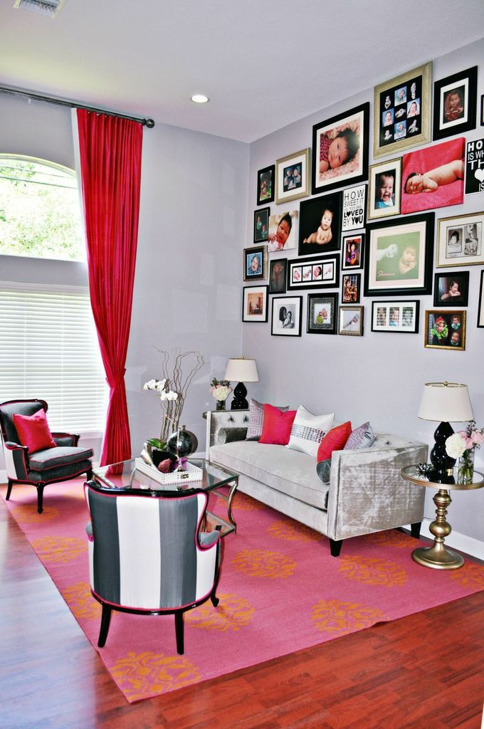 Contemporary Living Room photo by Nicole White Designs Interiors