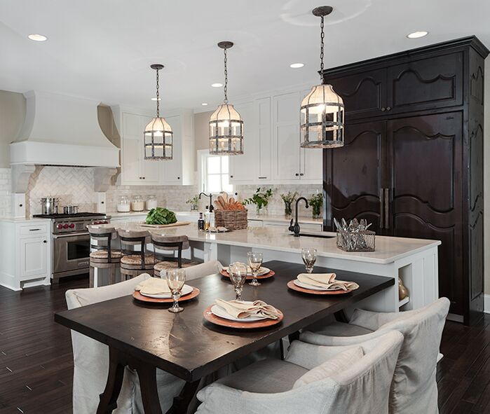 Traditional Kitchen photo by Beckwith Interiors