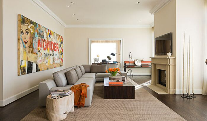 Contemporary Living Room photo by SOJO Design