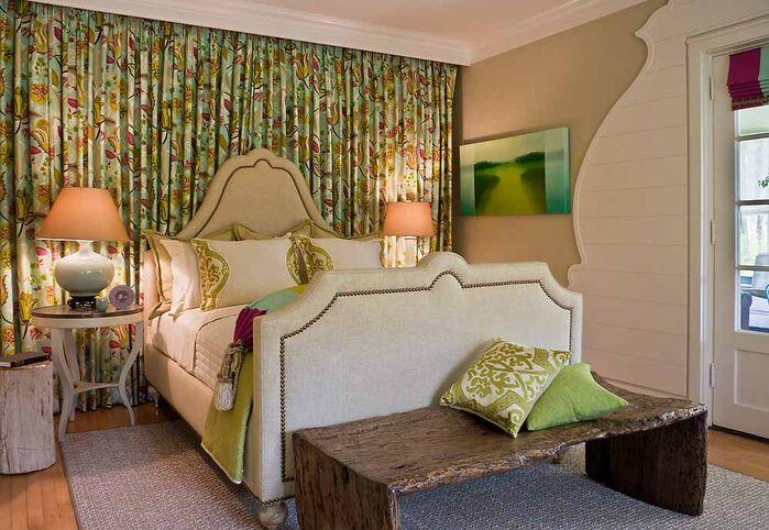 Eclectic Bedroom photo by Deb Reinhart Interior Design Group, Inc.
