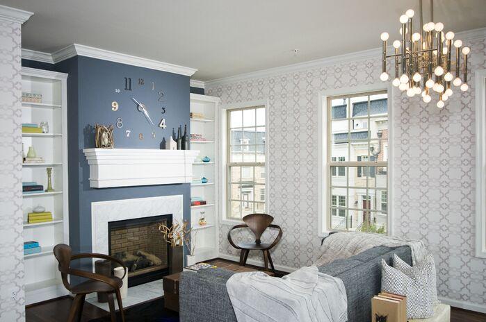 Eclectic Living Room photo by Darlene Molnar, LLC.
