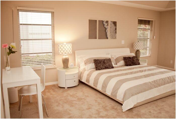 Modern Bedroom photo by Olen Designs LLC