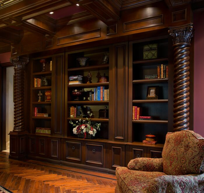 Traditional Home Office photo by Beth Whitlinger Interior Design
